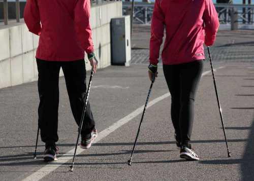 скандинавская ходьба с палками: польза, техника, правила
